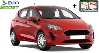 Ford Fiesta + GPS HDMR