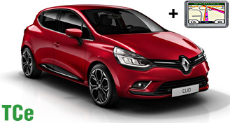 Renault Clio IV TCe + GPS