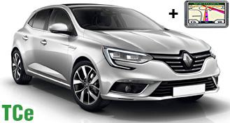 Renault Megane TCe + GPS JDMR
