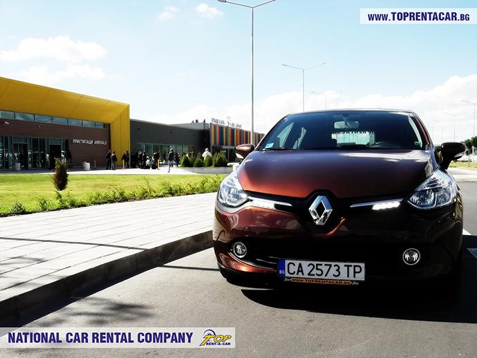 Renault Clio IV aeropuerto de Varna