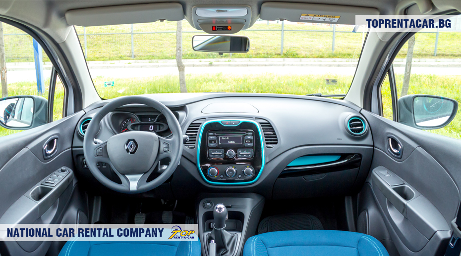 Renault Captur - vista interior