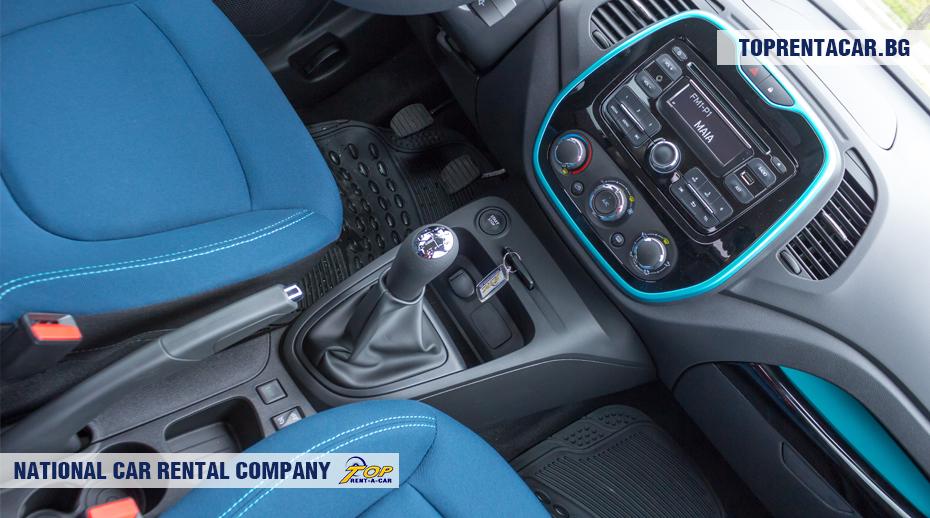 Renault Captur - caja de cambios manual