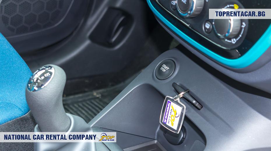 Renault Captur - botón de inicio / parada