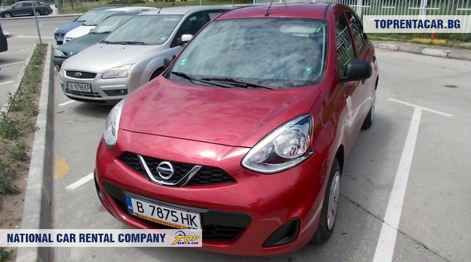 Nissan Micra - Vista frontal