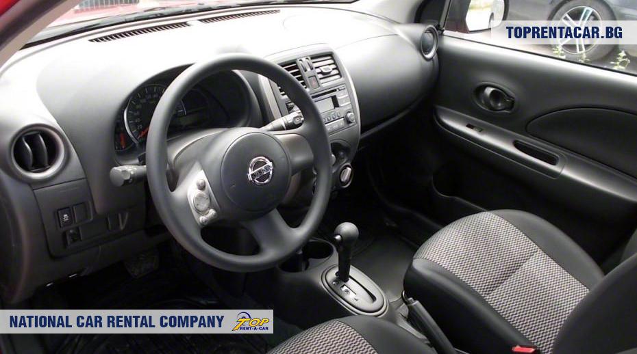 Nissan Micra - Vista interior