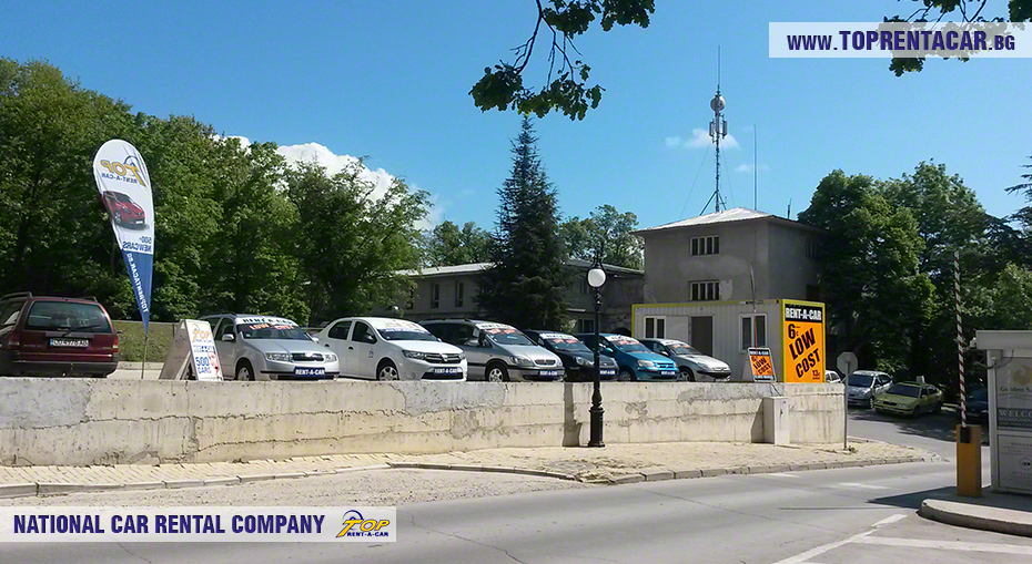 Top Rent A Car - oficina de Golden Sands