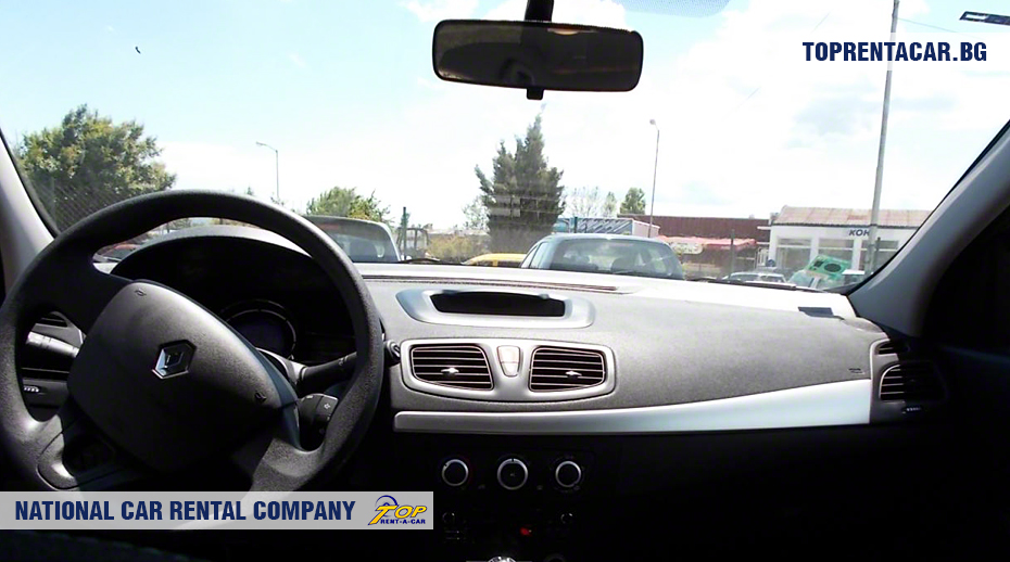 Renault Fluence - vista interior