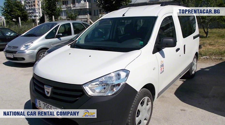 Dacia Dokker - vista frontal
