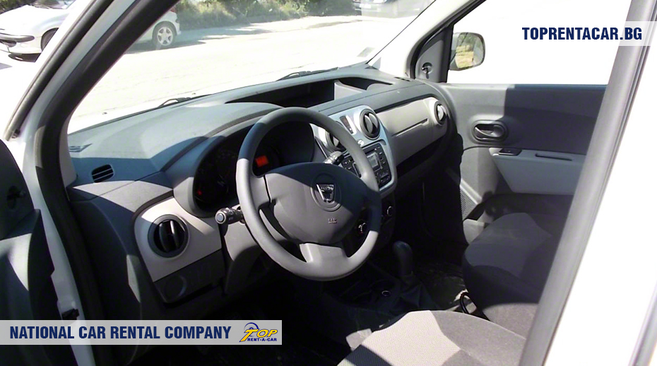 Dacia Dokker - vista interior