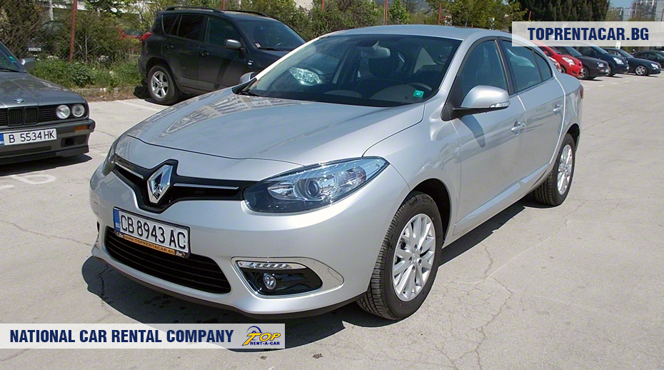 Renault Fluence - vista frontal