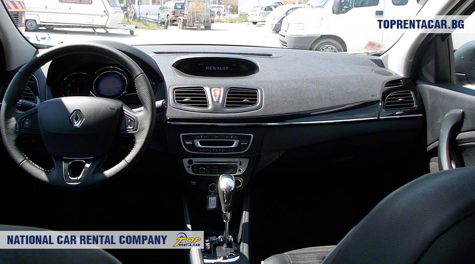 Renault Fluence - vista interior
