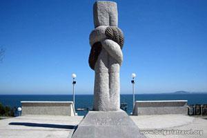 Monumento cerca del Jardín del Mar