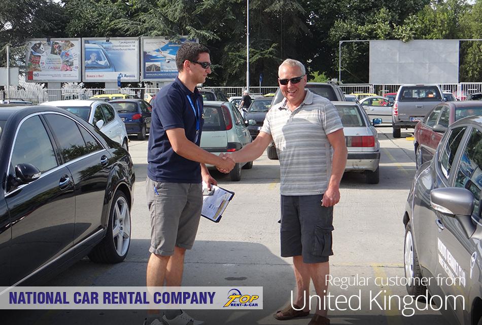 cliente de UK de Top Rent A Car