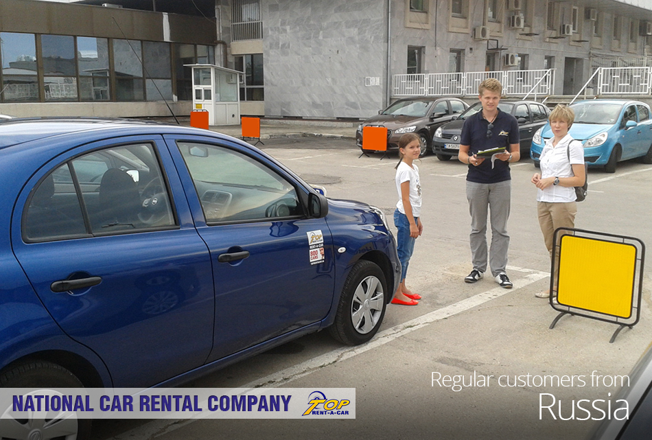 clientes rusos de Top Rent A Car