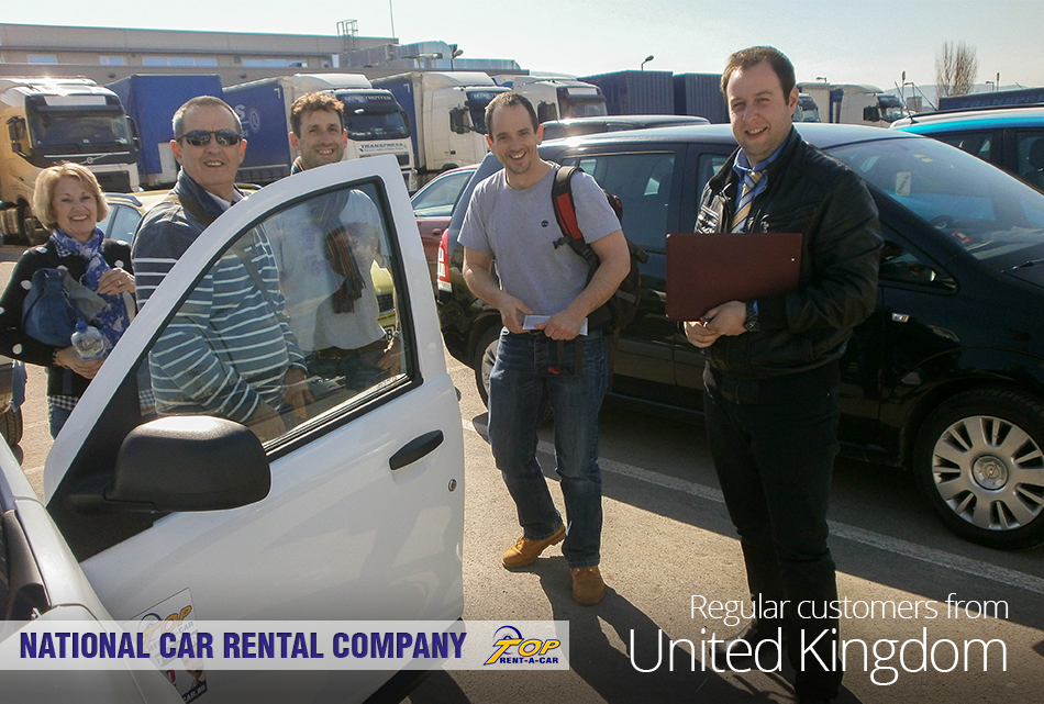 clientes de UK de Top Rent A Car