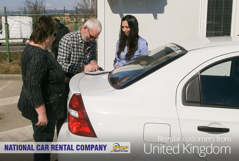 UK customers of Top Rent A Car
