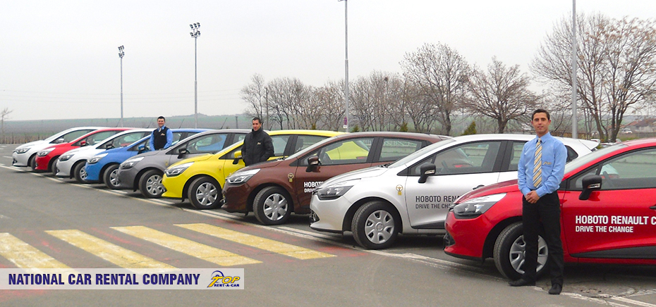 Servicio Nacional de Alquiler de coches de Top Rent A Car