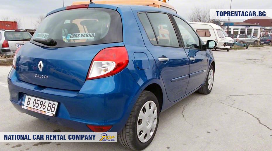 Renault Clio III - vista posterior