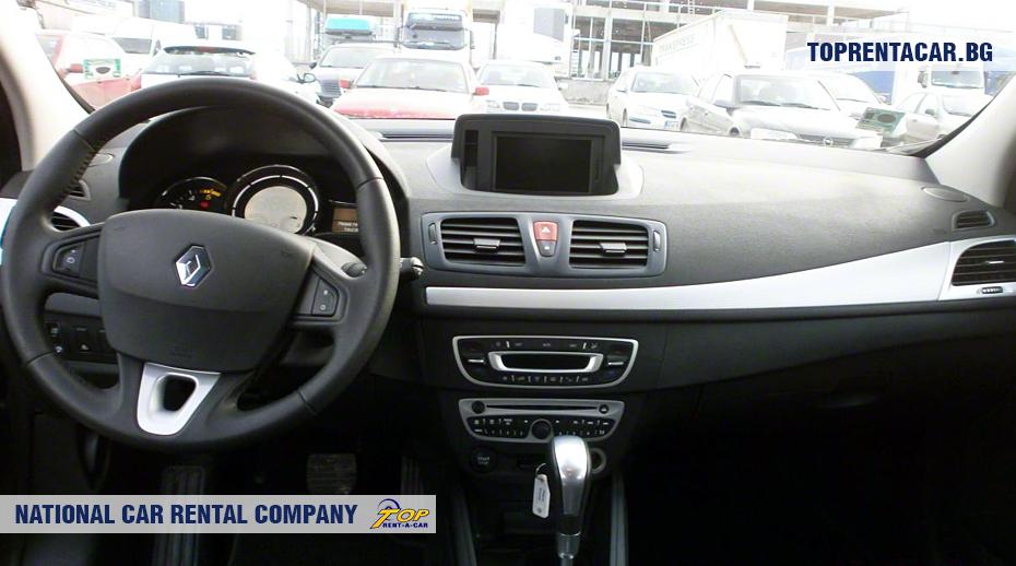 Renault Megane - Vista interior