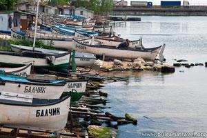Barcos en Balchik