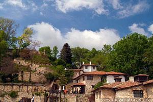 Las casas en Balchik
