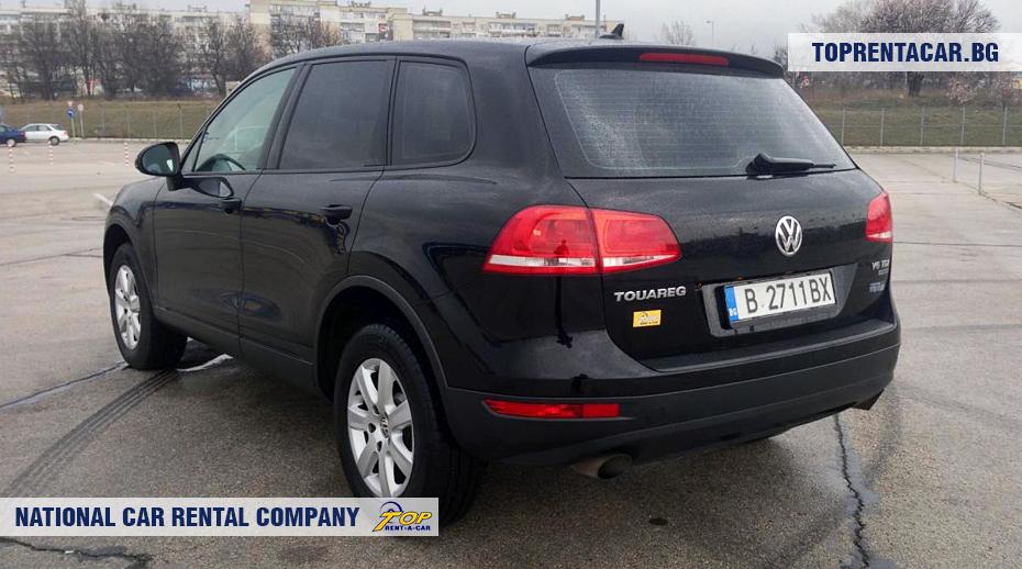 VW Touareg - vista posterior