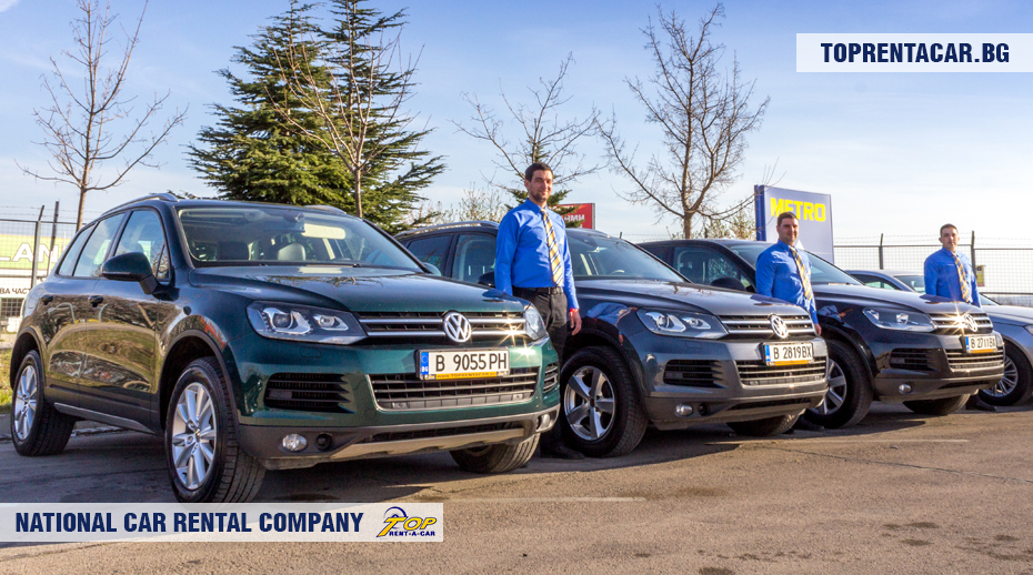 VW Touareg de Top Rent A Car