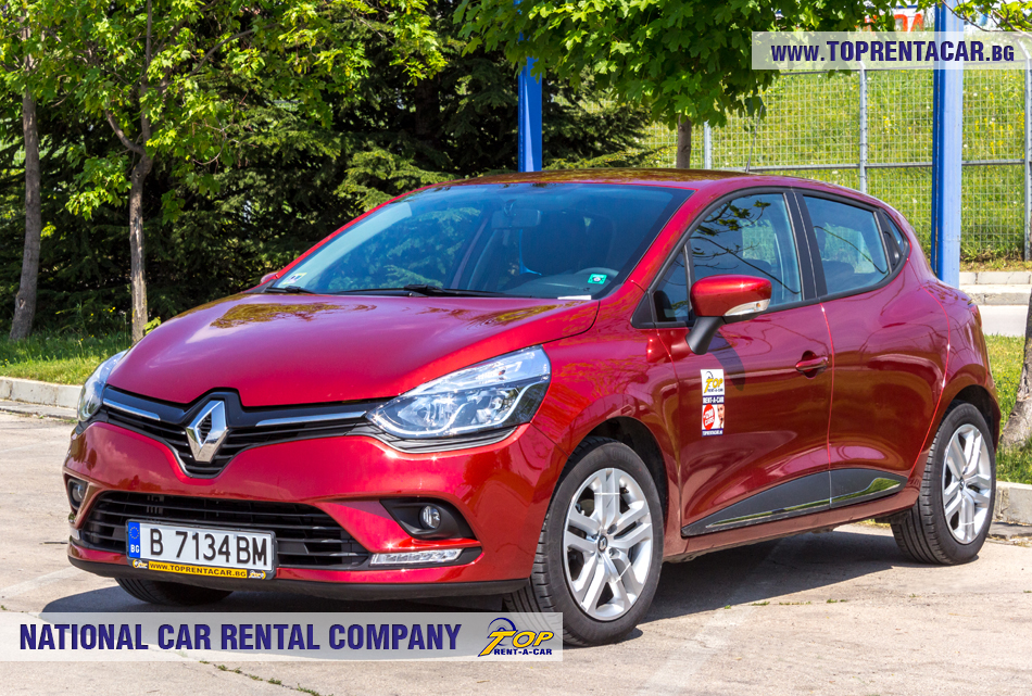 Renault Clio IV TCe - vista frontal