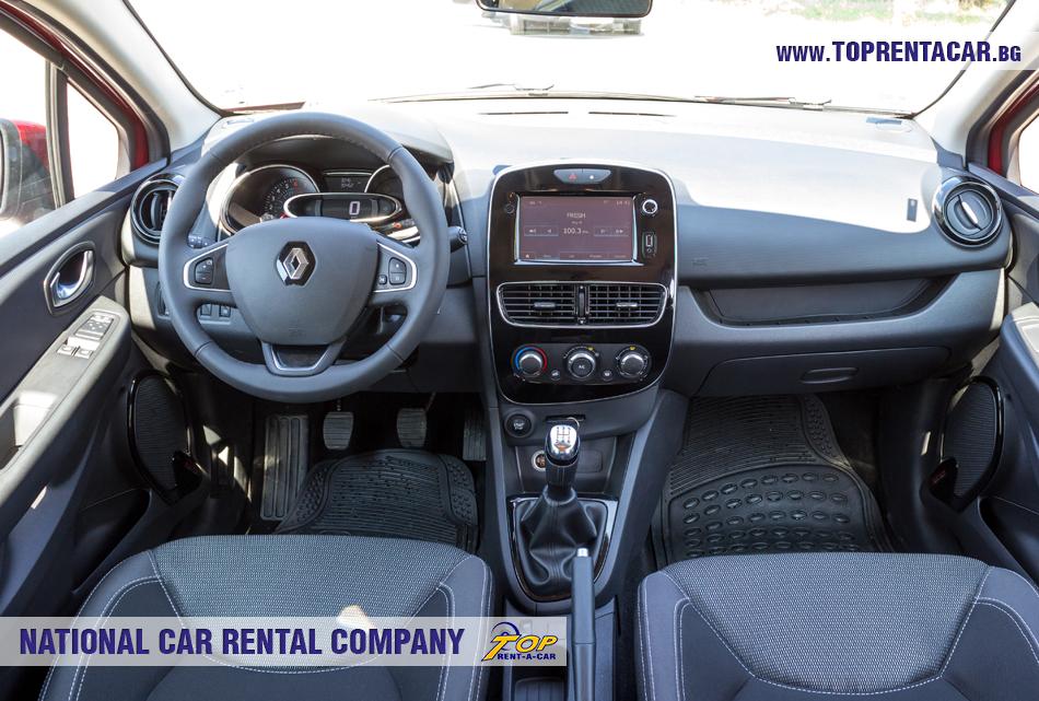 Renault Clio IV TCe - vista interior
