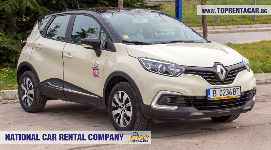 Renault Captur de Top Rent A Car