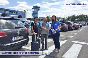 Alquiler de coches en el aeropuerto Otopeni de Bucarest