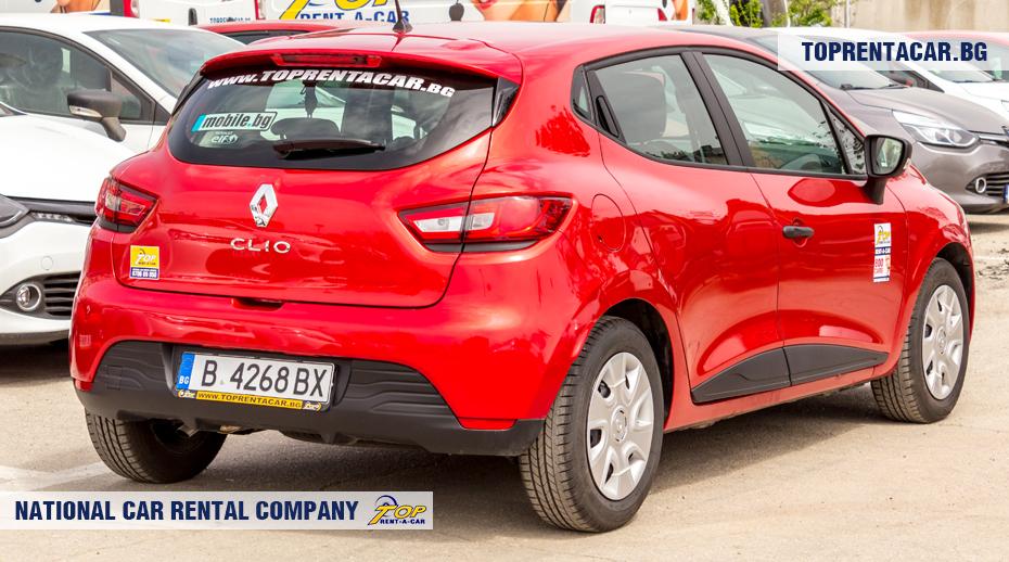 Renault Clio IV TCe - vista posterior