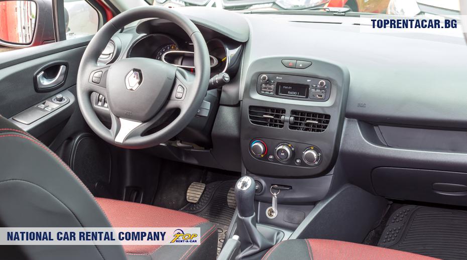 Renault Clio IV - vista interior