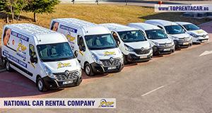 Alquiler de furgonetas en Sofia de Top Rent A Car