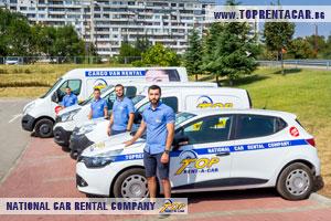 Alquiler de furgonetas en Burgas