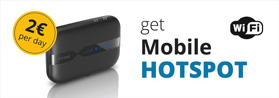 Hotspot móvil de Top Rent A Car
