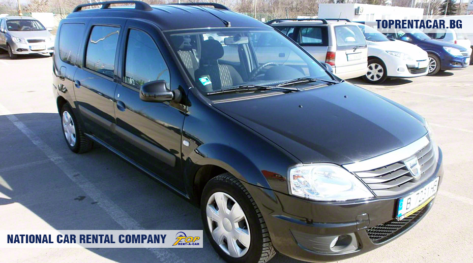 Dacia MCV - Vista frontal