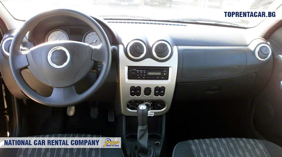 Dacia MCV - Vista interior
