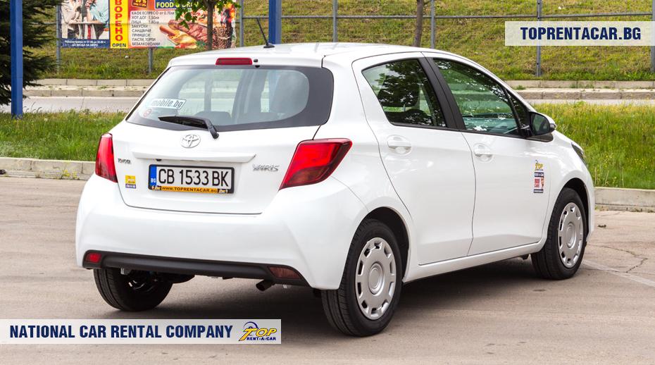 Toyota Yaris - vista posterior