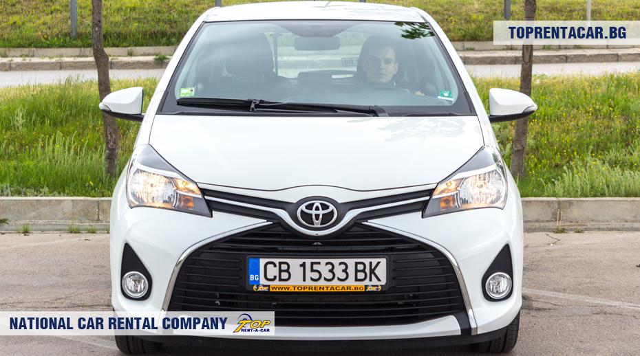 Toyota Yaris - vista frontal
