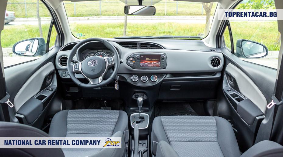 Toyota Yaris - vista interior