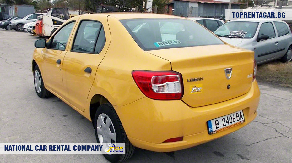 Dacia Logan - Vista posterior
