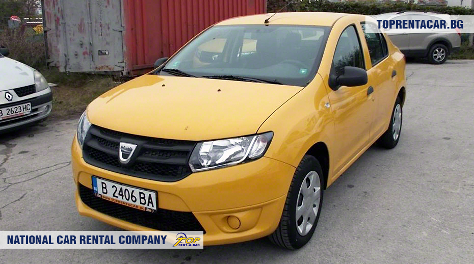 Dacia Logan - Vista frontal