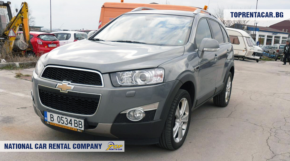 Chevrolet Captiva - vista frontal