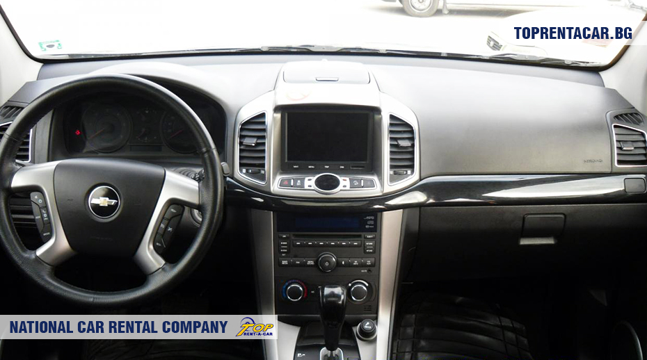 Chevrolet Captiva  - vista interior
