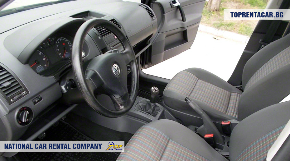 VW Polo -vista interior