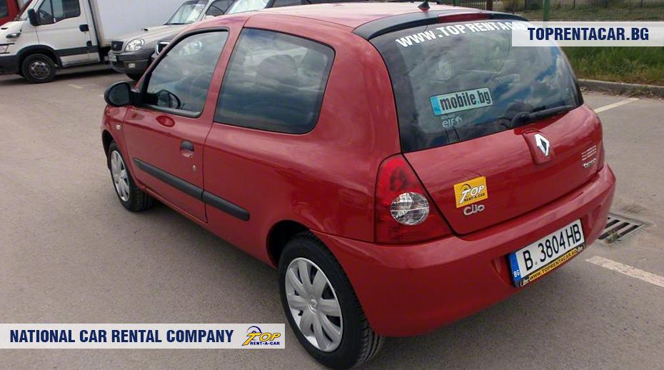 Renault Clio Campus - Vista posterior