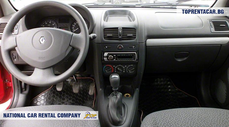 Renault Clio Campus - Vista interior