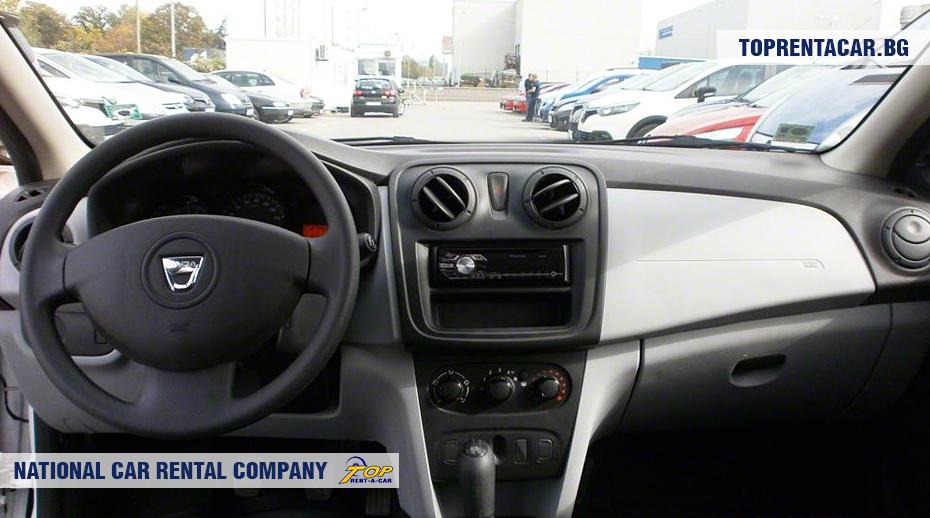 Dacia Sandero - Vista interior
