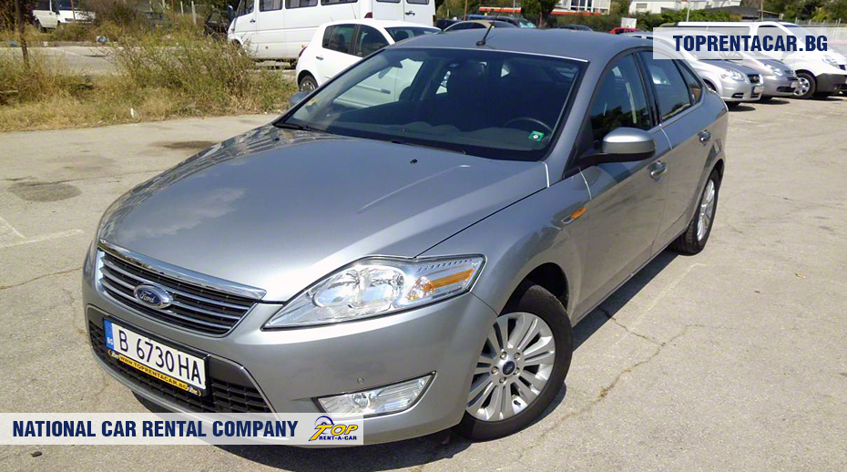 Ford Mondeo - Vista frontal